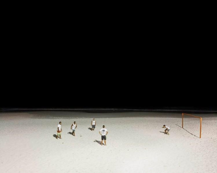 Soccer Match, Copacabana Beach, Rio de Janeiro, Brazil