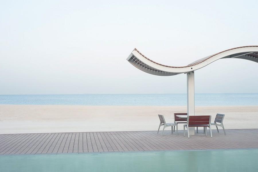 Dubai, UAE (Curved archway)