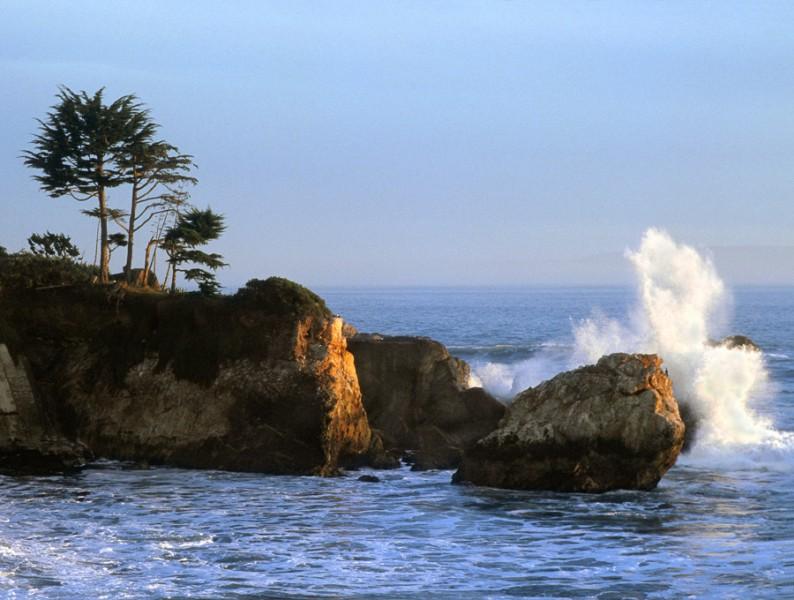 Shell Beach Coastline