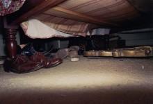 Untitled, Shoes Under Bed: William Eggleston