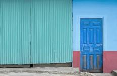 Corrugated Wall, Loja