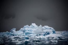 Bergy Bits Jammed Up in Errera Channel, Antarctic Peninsula
