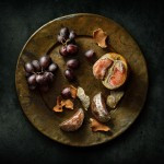 Blood Oranges with Grapes