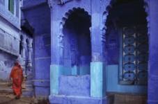 Blue Passage, Jodhpur, Rajasthan, India