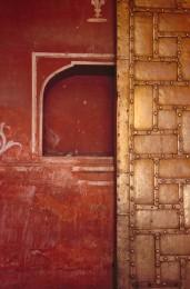 Bronze Door, Red Fort