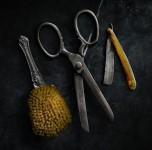 Brush, Scissors, Razor