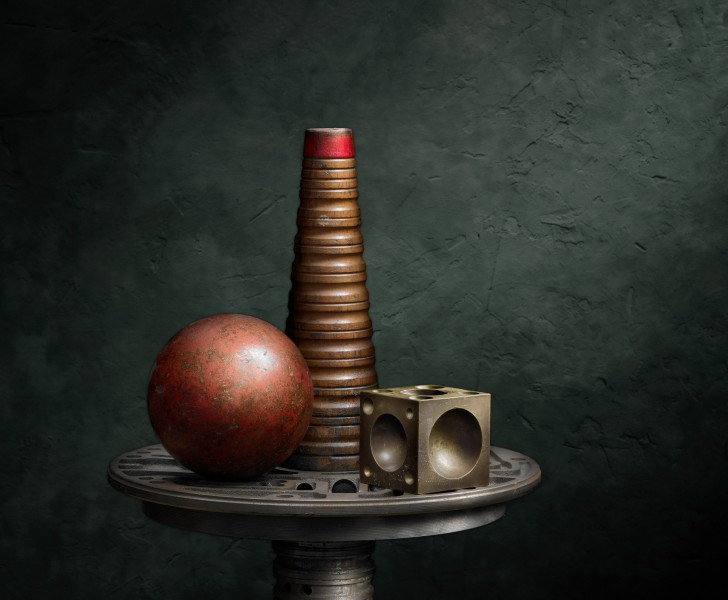 Cone, Ball and Anvil