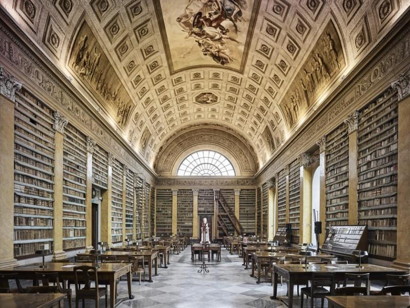 Library, Parma, Italy
