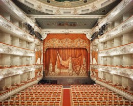Mikhailovsky Theatre Curtain, St. Petersburg, Russia