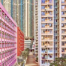 Pastel Facades, Hong Kong