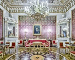 Red Room, Yusopf Palace, St, Petersburg, Russia