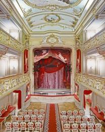 Yusopf Theatre, Curtain, St. Petersburg, Russia