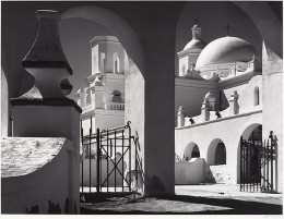 Arches, North Court, Mission San Xavier Del Bac, Tucson, Arisona