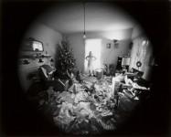 Edith, Christmas Morning, Danville, Virginia: Emmet Gowin (Sold)