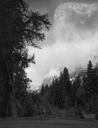 El Capitan Winter Sunrise, Yosemite Natioanl Park