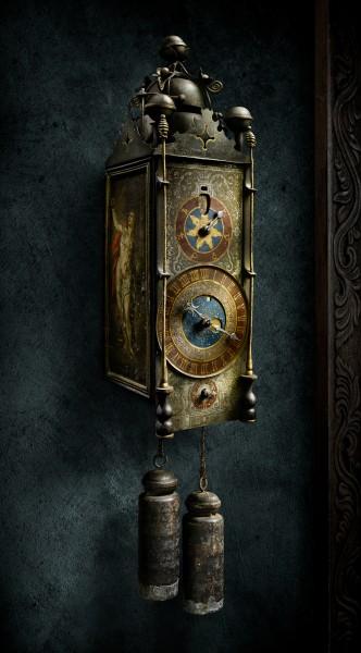 German Chamber Clock