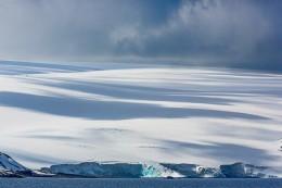 Glacier and Cloud Shadows, Bransfield Strait, Antarctica