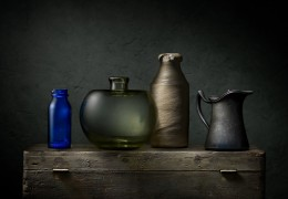 Green and Blue Bottles