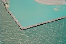 Break Wall and Blue Water, Lake Michigan #093-0700