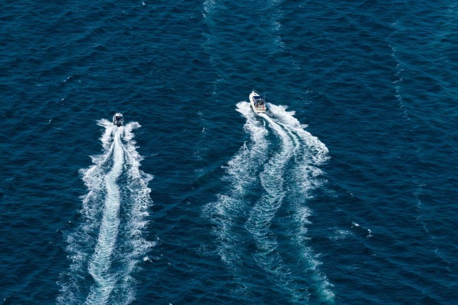 Bristol to Newport Motor Yacht Race, Narragansett Bay #484-8030