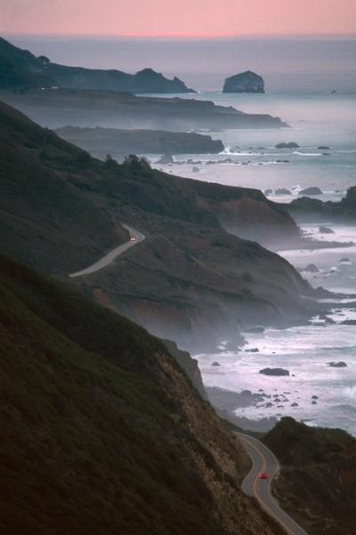 Big Sur Highway, Sunrise