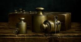 Italian Brass Weights