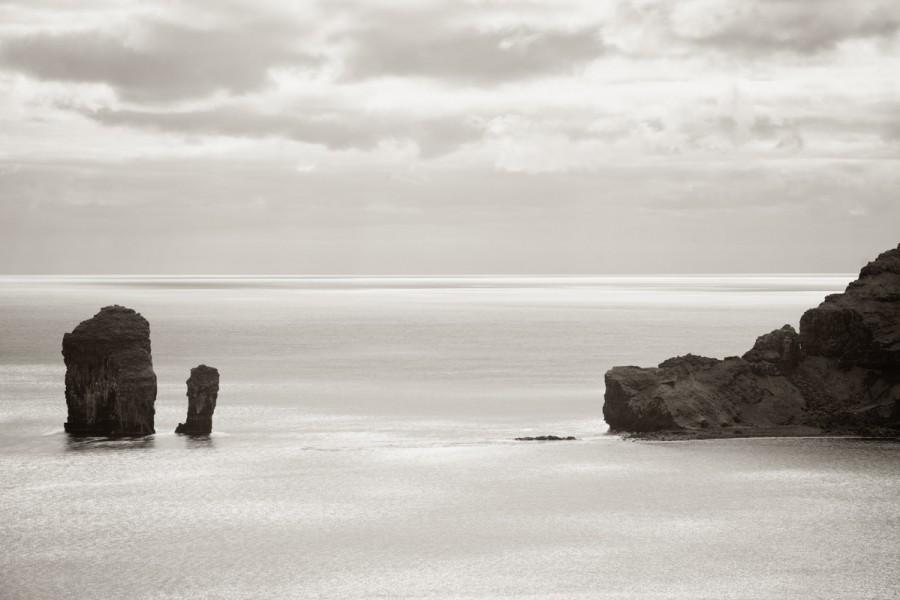 Sea Stacks and Tindhólmur