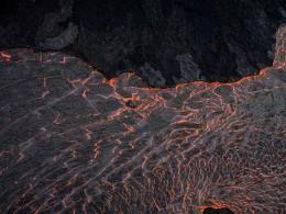 Lava River 2, Eruption