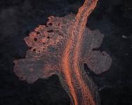 Lava River 4, Eruption