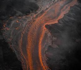 Lava River 6, Eruption