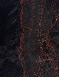 Lava River 7, Eruption