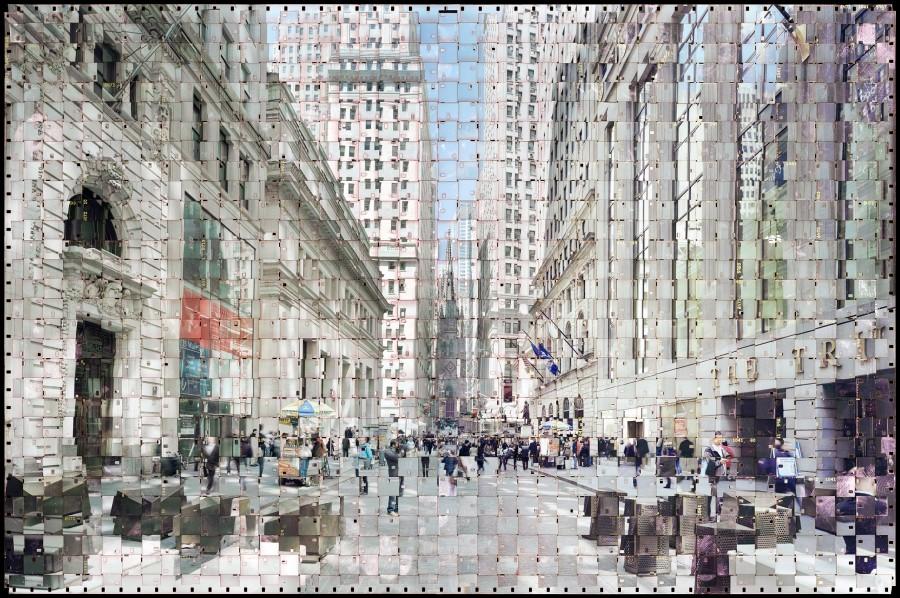 Wall Street, NY, 2 (Textus #217-1)