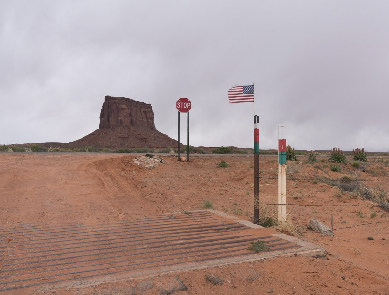 Roadside: Frayed at Monument Valley