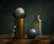 Sleeve Bearing with Steel Sphere