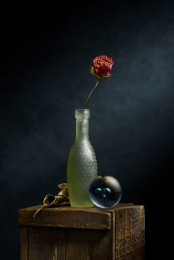 Still Life with Bubble Vase