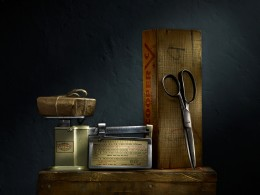 Still Life with Scale and Scissors