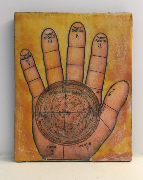 The Map's Hand