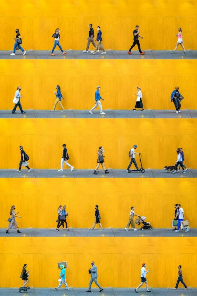 Time Lapse: SoHo Greene Street, NYC