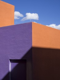 Untitled Purple and Orange