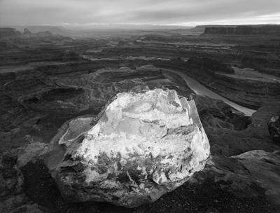 White Boulder, Canyonlands, Dead Horse Point, Utah