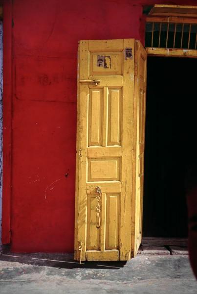 Yellow Door, Red Wall