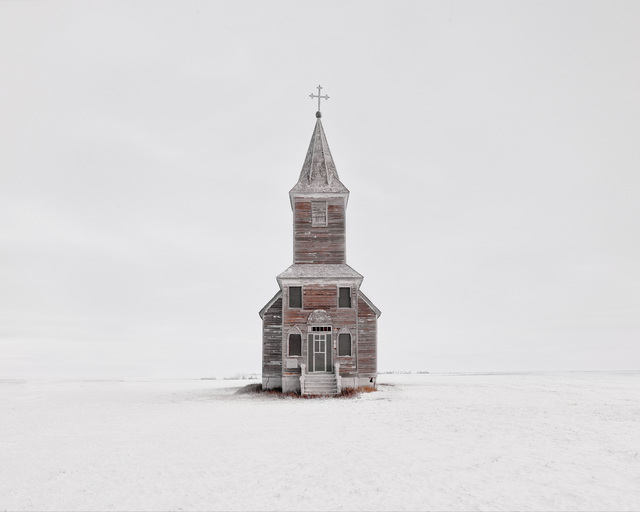 Church In Snow, Saskatchewan, CA