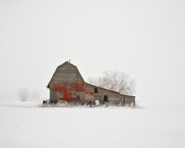Barn with Hoarfrost, Saskatchewan, CA