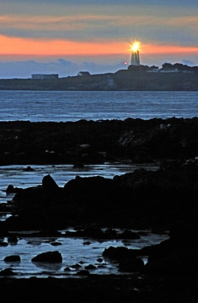 Piedras Blancas Lighthouse, No. 2, Near San Simeon
