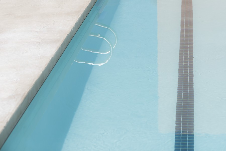 Pool with Rail Reflection