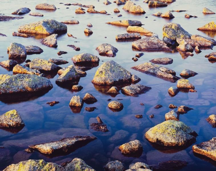 Serene Lake Stones