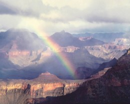 South Rim Rainbow, Arizona